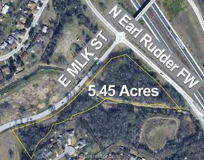 bryan Residential Lots & Land For Sale: 1499 North Earl Rudder Frwy