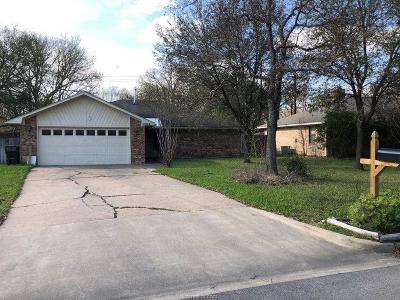 Bryan Single Family Home For Sale: 1004 Wedgewood