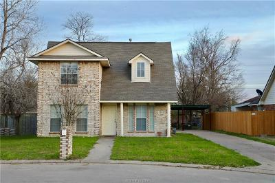 College Station Single Family Home For Sale: 2421 Pintail Loop