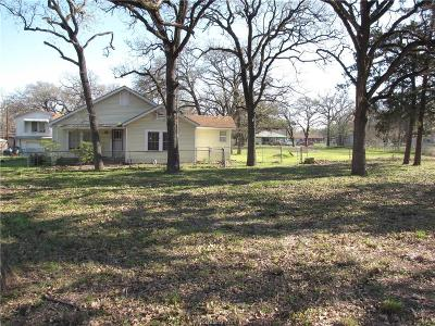 Bryan TX Single Family Home For Sale: $150,000