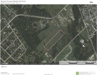 College Station Residential Lots & Land For Sale: Tbd Rock Prairie