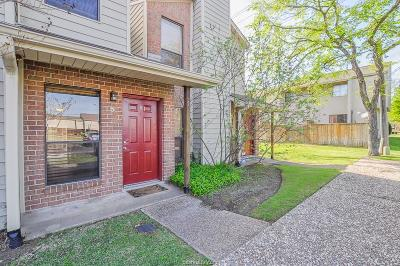 College Station TX Condo/Townhouse For Sale: $136,500