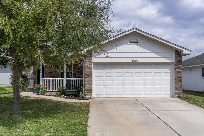 College Station TX Single Family Home For Sale: $182,500