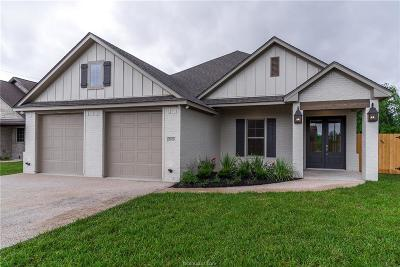 Bryan Single Family Home For Sale: 3070 Peterson Circle