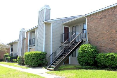 College Station Condo/Townhouse For Sale: 1901 Holleman #412
