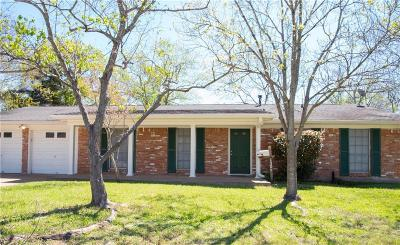 Bryan Single Family Home For Sale: 1305 Esther Boulevard