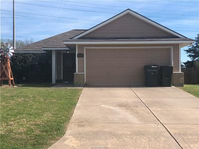 Bryan Single Family Home For Sale: 1262 Cottage Grove Circle