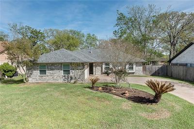 Bryan Single Family Home For Sale: 4109 Warwick Lane