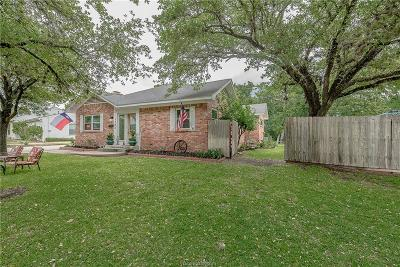 Bryan Single Family Home For Sale: 1703 Woodland Drive