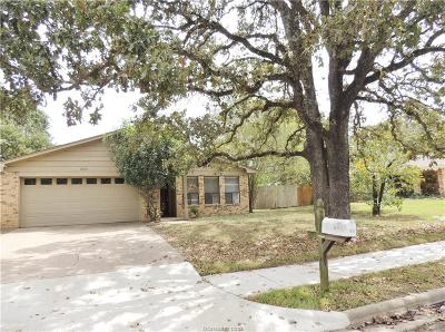 College Station Single Family Home For Sale: 1010 San Saba Drive