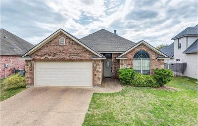 Bryan , College Station  Single Family Home For Sale: 122 Walcourt Loop
