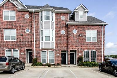 College Station TX Condo/Townhouse For Sale: $242,000