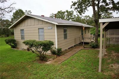 Burleson County Single Family Home For Sale: 121a Parkview Dr