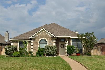 Bryan , College Station  Single Family Home For Sale: 3909 Tournay Lane