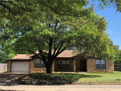 Bryan TX Single Family Home For Sale: $159,900