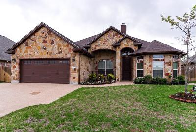 College Station Single Family Home For Sale: 2104 Chestnut Oak