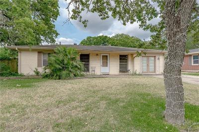 Bryan Single Family Home For Sale: 4304 Maywood Drive