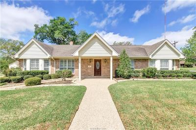 Bryan Single Family Home For Sale: 2527 Willow Bend Drive