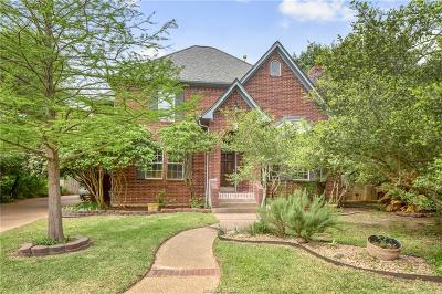 College Station Single Family Home For Sale: 9308 Amberwood Court