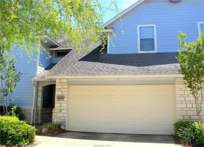 College Station Condo/Townhouse For Sale: 1242 Canyon Creek