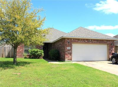 College Station Single Family Home For Sale: 3509 Marigold Street
