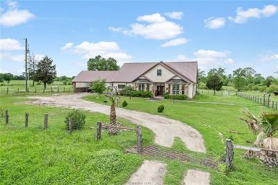 Madisonville Single Family Home For Sale: 1745 Highway 75