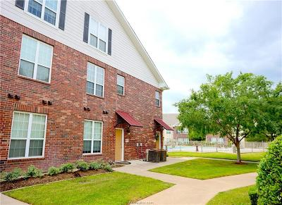 College Station Condo/Townhouse For Sale: 801 Luther Street #403