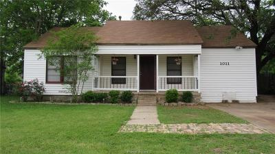 Bryan , College Station Single Family Home For Sale: 1011 East 29th Street