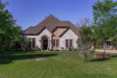 College Station Single Family Home For Sale: 17944 Ranch House Road