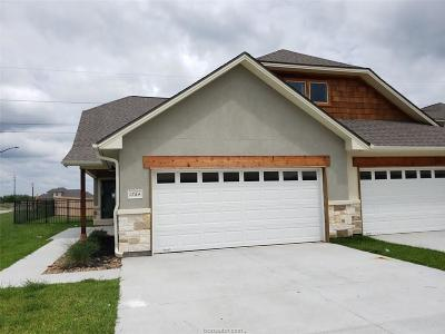 Bryan  , College Station Condo/Townhouse For Sale: 1764 Lonetree Drive