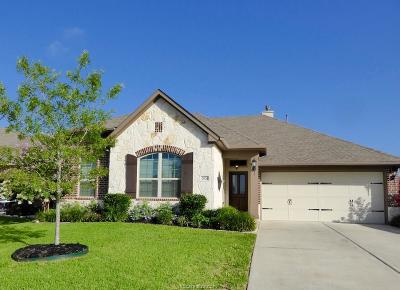 College Station Single Family Home For Sale: 2506 Kimbolton Drive