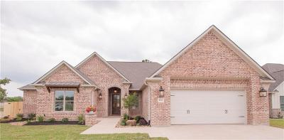Brazos County Single Family Home For Sale: 4814 Crooked Branch Drive