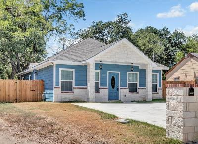 Bryan Single Family Home For Sale: 1405 East 25th Street