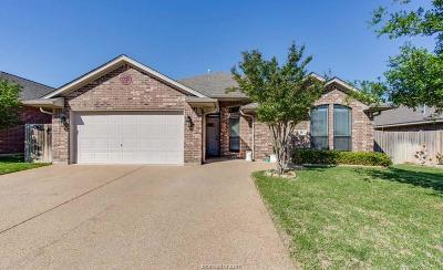 College Station Single Family Home For Sale: 1113 White Dove Drive