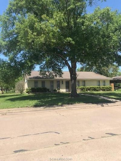 Bryan TX Single Family Home For Sale: $179,900
