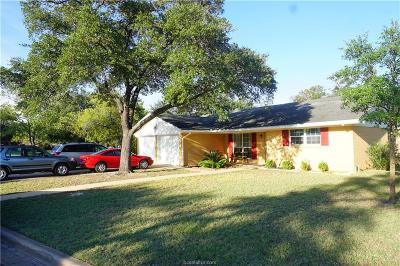 Bryan Single Family Home For Sale: 510 Olive Street