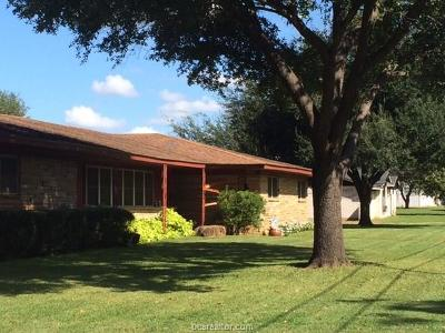 Hearne Single Family Home For Sale: 510 W Calvert Street