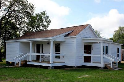 Robertson County Single Family Home For Sale: 708 East Texas Street