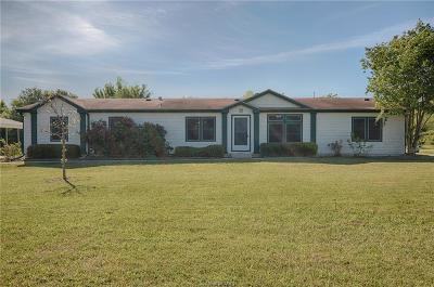 Bryan Single Family Home For Sale: 6372 Standing Rock Road