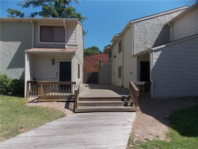 Bryan Condo/Townhouse For Sale: 4507 Carter Creek #1