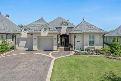 Bryan , College Stat Single Family Home For Sale: 5012 Portofino Drive