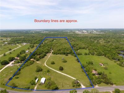 College Station, Bryan, Iola, Caldwell, Navasota, Franklin, Madisonville, North Zulch, Hearne Residential Lots & Land For Sale: 4296 Leonard Road