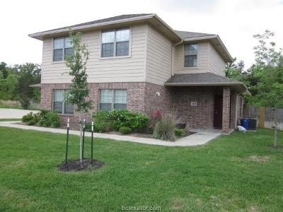 Brazos County Multi Family Home For Sale: 4432/34,4436/38,4441/43 Reveille Road