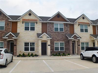 College Station Condo/Townhouse For Sale: 301 Southwest #328
