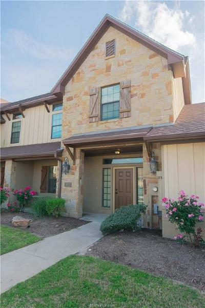 College Station Condo/Townhouse For Sale: 3337 Lieutenant
