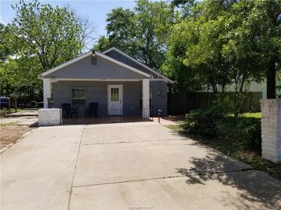 Bryan , College Station Single Family Home For Sale: 1205 Ursuline