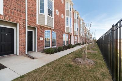 College Station Condo/Townhouse For Sale: 1198 Jones Butler Road #1704