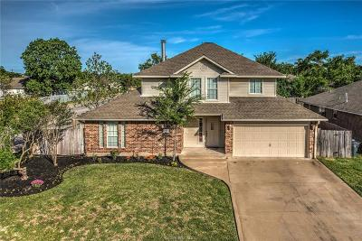 Bryan , College Station  Single Family Home For Sale: 1301 Norfolk Court