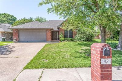 College Station Single Family Home For Sale: 3924 Hawk Owl Cove