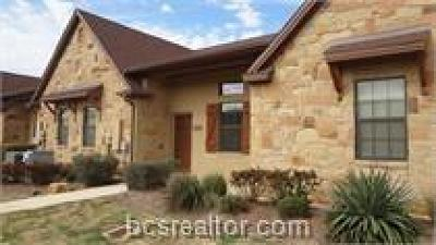 College Station Condo/Townhouse For Sale: 3346 General